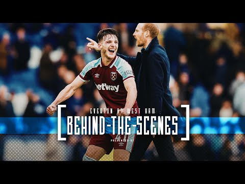 IRONS TAKE THE POINTS AT EVERTON | BEHIND THE SCENES