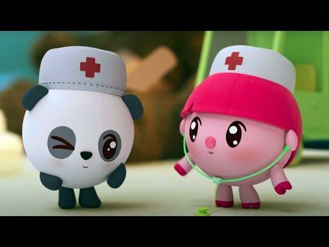 Малышарики - Новые серии - 🚑  Поликлиника  😷 (165 серия) Мультики 2020