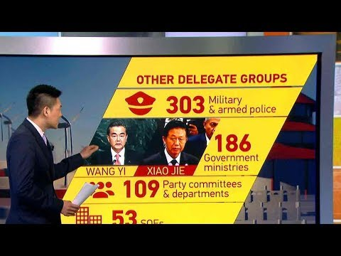 How delegates are elected for the presidium of the 19th Party Congress