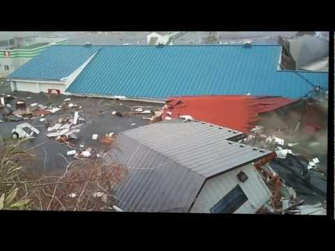 2011 Japan Tsunami: Ofunato [stabilized with Deshaker]