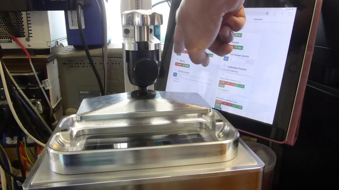 X-Cube UV LCD 3D Printer - Remote Printing