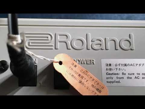 Roland TR 707 demo
