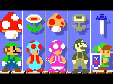 Super Mario Maker 2 - All Characters Super Mario Bros. Power-Ups