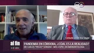 Pandemia en Córdoba: ¿Cuál es la realidad?