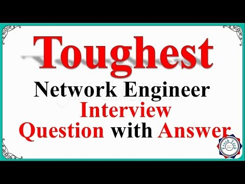 Toughest Network Engineer Interview Question Ever