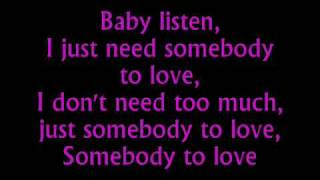 Download Somebody To Love Justin Bieber Lyrics Mp3 and Videos