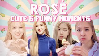 try not to fall in love with rosé | cute & funny moments