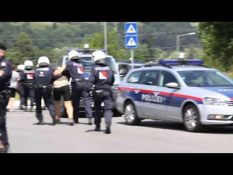Militärübung Schutz 14 in Nenzing - Konzett im Interview