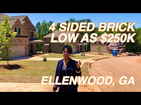 New Construction Low As $250K In Ellenwood, GA