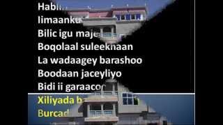 Baxsaneey Hargeysaay: with lyrics (Midhaha iyo Sawiradii ugu danbeeyay ee Caasimada 2012).