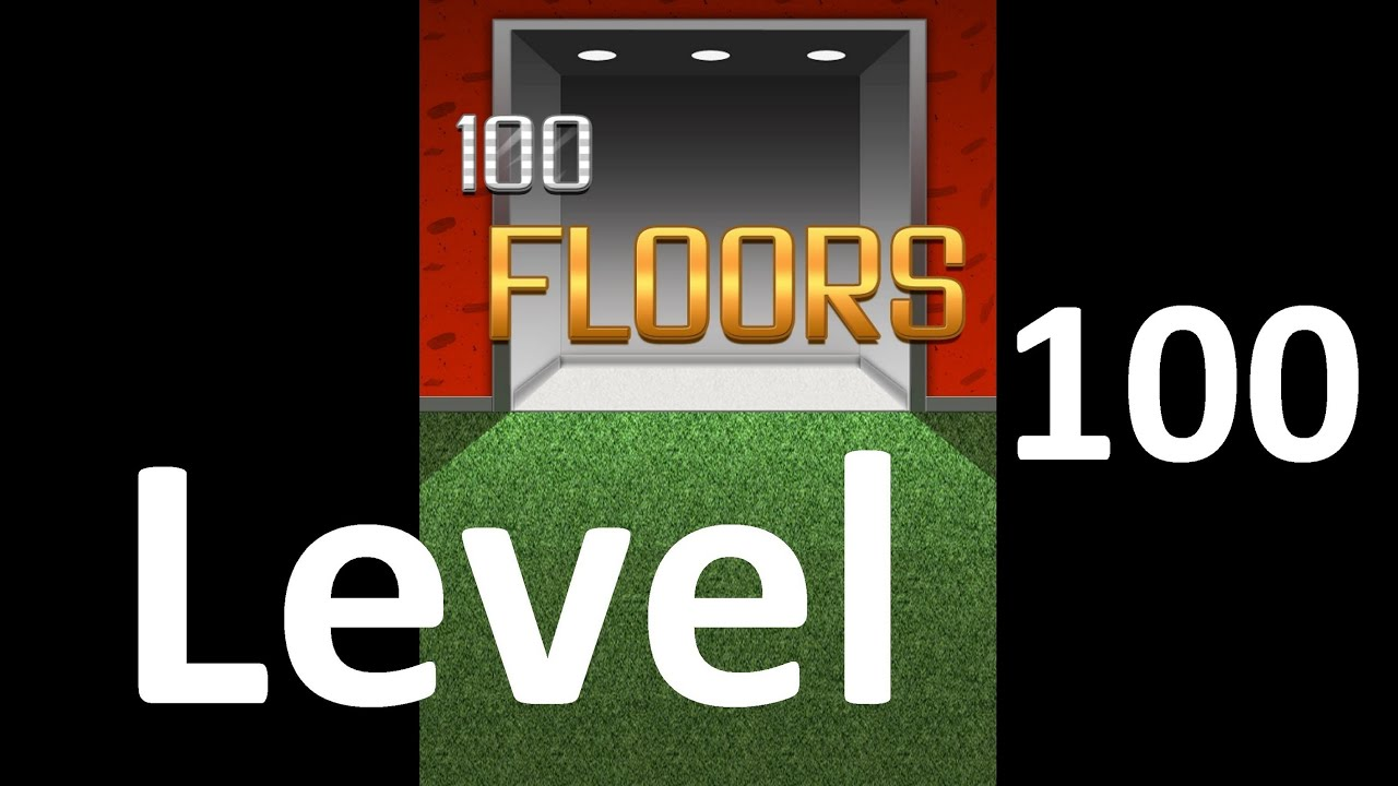 100 Floors Level 100 Floor 100 Solution Walkthrough Youtube