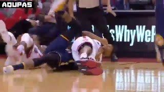 Repeat youtube video Paul George + Kyle Lowry Double Technical Fouls   RAPTORS vs PACERS   APR 26 2016 NBA Playoffs R1G5