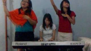 Oh sukacita ku (sunday school song)-cover