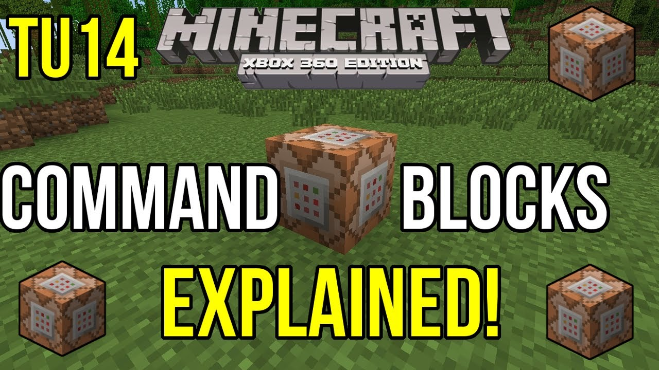 Minecraft Xbox 360: Command Block Explained! | Coming in TU14 by  Puredominace