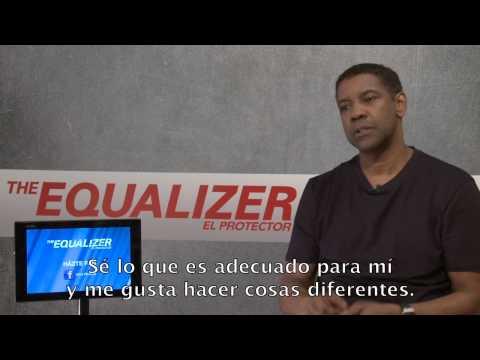 THE EQUALIZER: El Protector. Entrevista Denzel Washington. Ya en Cines.