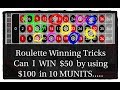 50% Profit in 10 MUNITS Online Casino roulette.