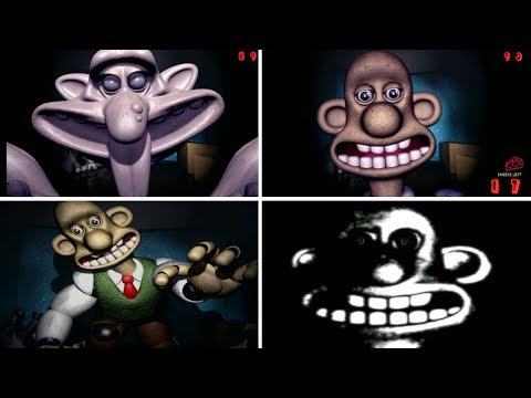 FNAF: Wallace And Gromit - ALL JUMPSCARES!