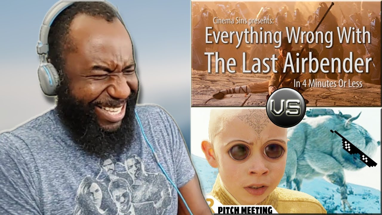Download The Last Airbender Reaction   Pitch Meeting Vs. CinemaSins