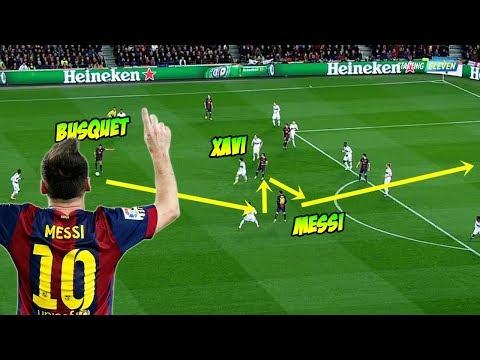 10 Gol Tiki Taka Terbaik di Dunia dari Lionel Messi ● Starting Eleven