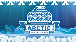Arctic Curling Cup 2019 Сборная России Юн. - Сборная Финляндии