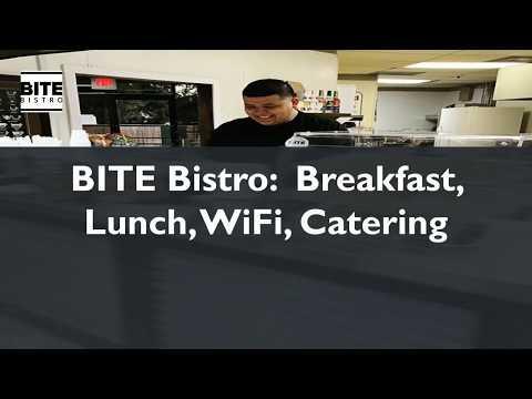 BITE Bistro - Breakfast, Lunch, Coffee Shop, WiFi, Catering Dallas TX 75247 - Видео онлайн