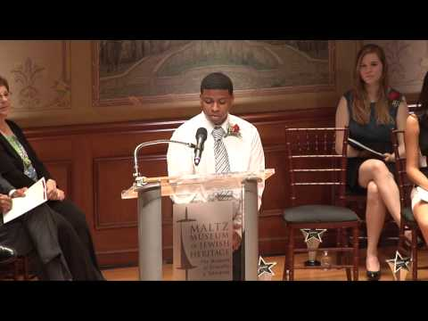 """""""Stop the Hate"""" Second Runner-Up Robert Edwards reads his essay"""