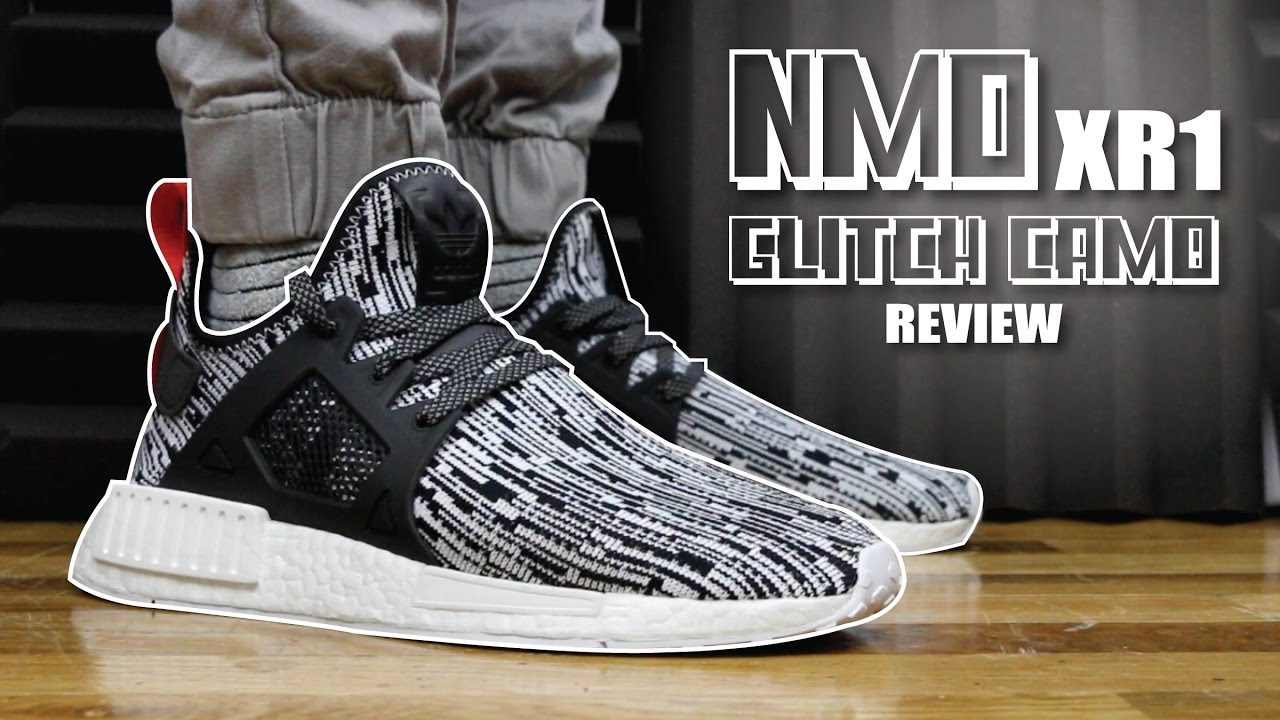 hot sale online f5e92 6e495 ADIDAS NMD XR1 GLITCH CAMO REVIEW
