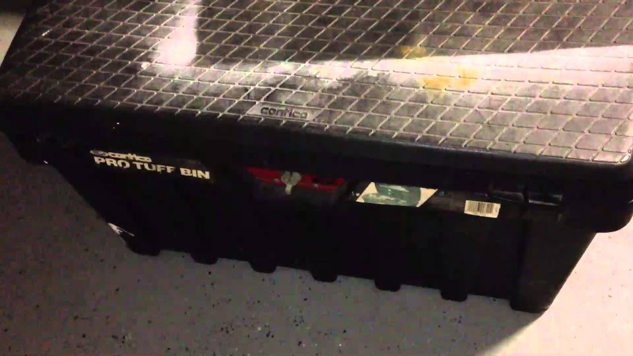 Contico Pro Tuff Bin Box Model 3725 YouTube