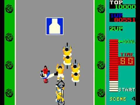 Arcade Game: Kick Rider (1984 Universal)