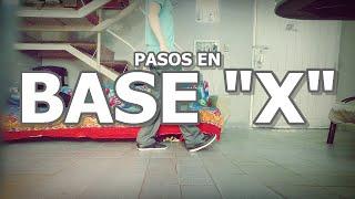 """PASOS EN BASE """"X"""" - ¿Cómo bailar Shuffle en base """"X""""?"""