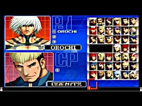"""KOF """"2002"""" PS2 PLUS HACK  PERSONAJES OCULTOS DESBLOQUEADOS PARA ANDROID, TIGER ARCADE, FBA Y KAWAKS"""