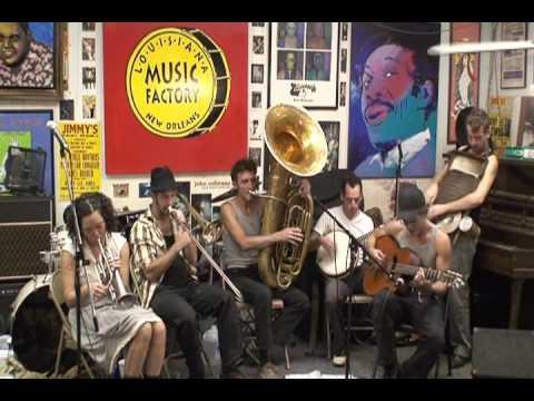 Tuba Skinny @ Louisiana Music Factory 2010 - PT 2