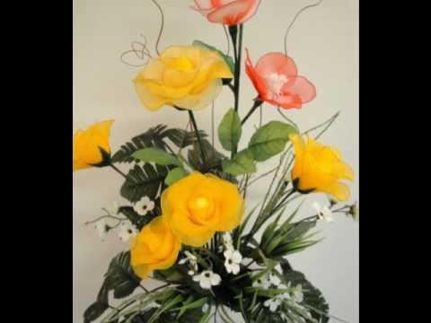 Nylon Flower Arrangement