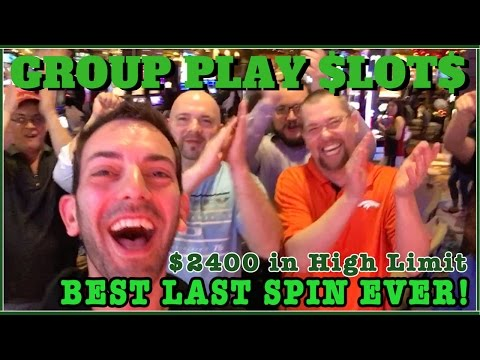 BEST Last Spin EVER- High Limit! ✦ $2400 Group Pull ✦ HL Slot Machines Fridays - Cleopatra + MORE!
