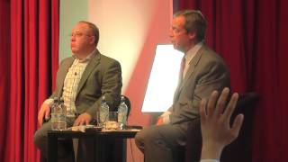 UKIP Leader Nigel Farage speaking at Hasmonean School, Hendon (Part 2)