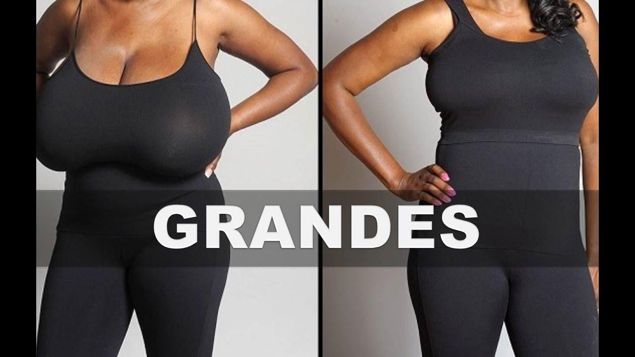Al bajar de peso se reducen los senos