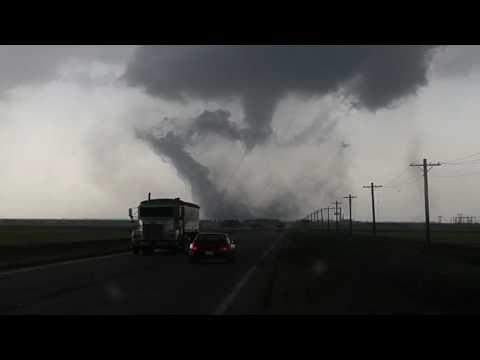 Tornado West of Scott City KS.