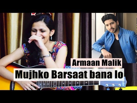 Mujhko Barsaat Bana Lo Guitar Lesson   Simple Guitar Chords   Armaan Malik   Music Wale