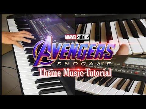 Avengers: Endgame - Theme Music Tutorial // Marvel studio's Avengers End Game BGM thumbnail
