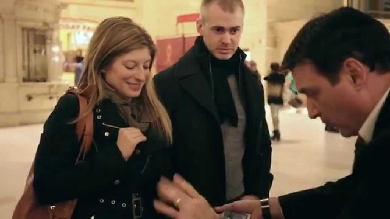 Magic Marriage Proposal In Grand Central Station Youtube