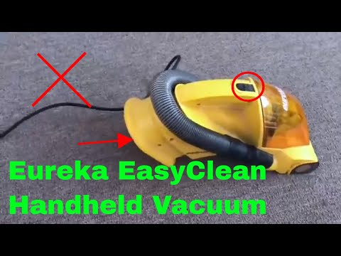 ✅  How To Use Eureka EasyClean Handheld Vacuum Review