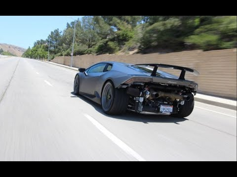 Twin Turbo Lamborghini Huracan Performante Underground Racing Youtube