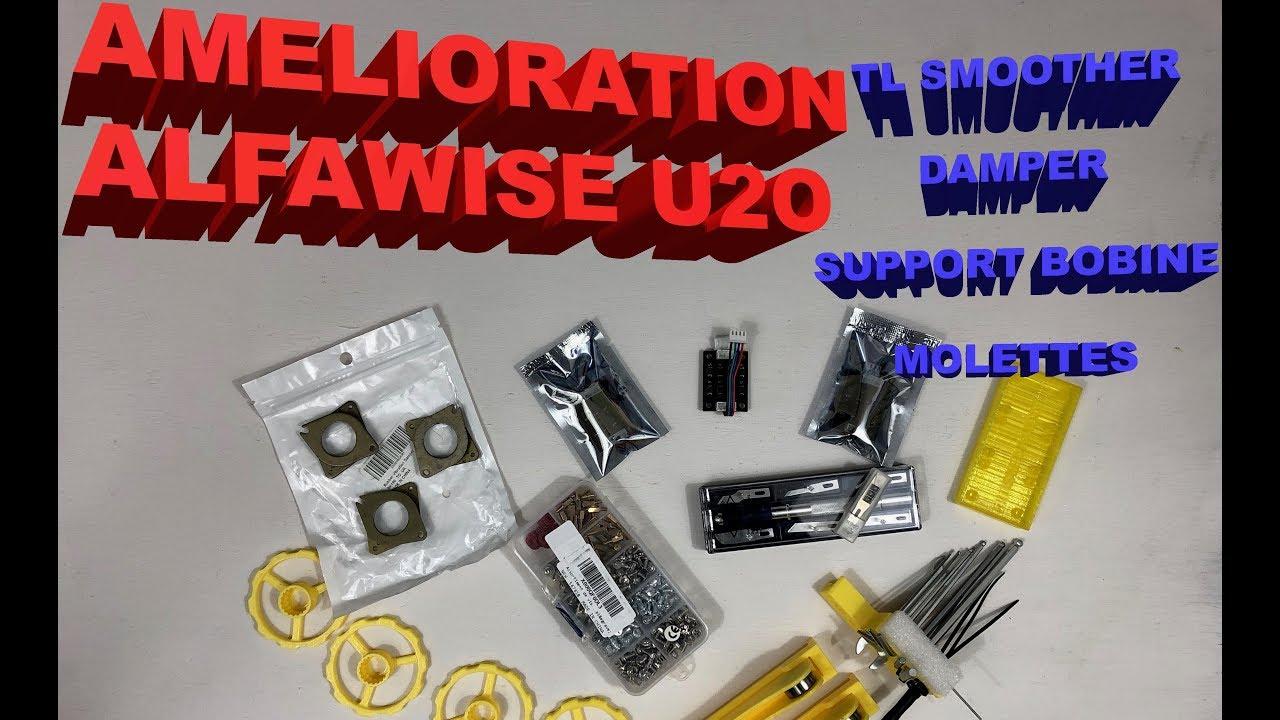 Amelioration de l'ALFAWISE U20 TL-SMOOTHER + DAMPERS