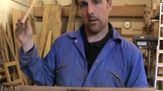 Furniture Making:  Slip Tennon 1