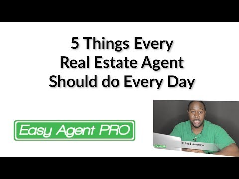 5 Tasks For Every Agent Every Day (Grow You to Grow Your Business)