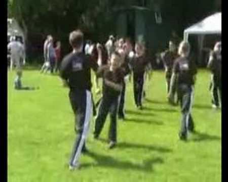 Black Belt Club Demo Team Peakirk 2008