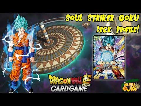 Soul Striker Goku Dragon Ball Super Deck Profile!