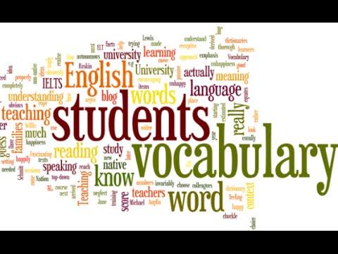 3000 Từ vựng tiếng Anh thông dụng