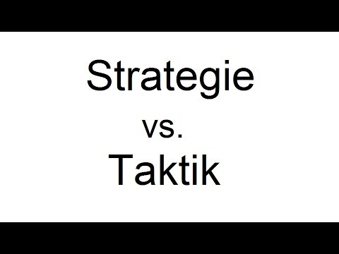 Strategie Und Taktik Blog