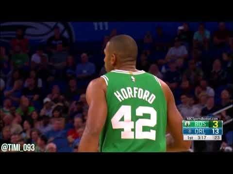 Al Horford Highlights vs Orlando Magic (14 pts, 10 reb, 4 ast)